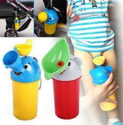 Blue Stones Portable Convenient Travel Cute Baby Urinal Kids Potty Girl Boy Car Toilet Vehicular ...