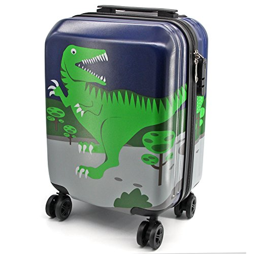 Lttxin Kids Suitcase 16 Inch Polycarbonate Carry On