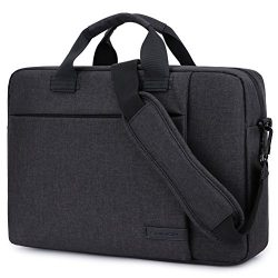 Laptop Bag 15.6 Inch,BRINCH Stylish Fabric Laptop Messenger Shoulder Bag Case Briefcase for 15-1 ...
