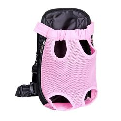COPPEN 2018 New Nylon Mesh Useful Pet Puppy Cute Dog Cat Carrier Backpack Front Net Bag Tote Sli ...