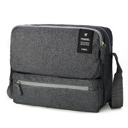 Shoulder Bags for Men and Women, Tezoo Large Capacity Side Bag Messenger Cross Body Bag Multi Po ...