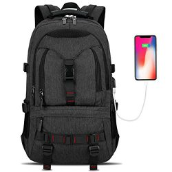 Laptop Backpack, Tocode Travel Backpack Contains Multi-function Pockets,Stylish Anti-theft Schoo ...