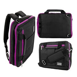 Travel Laptop Backpack, Large 3-IN-1 Convertible College School Backpack for Mens and Women with ...