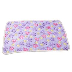 Meolin Dog Cat Fleece Blankets Pet Sleep Mat Pad Flannel Fleece Dog Throw Blanket Pet Dog Bed Bl ...