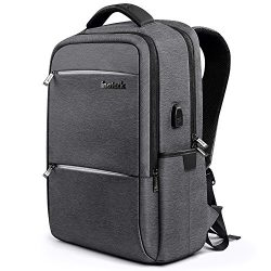 [High-Grade Materials] Inateck 15.6 Inch Anti-Theft School Business Travel Laptop Backpack Rucks ...