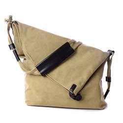 ENKNIGHT Functional Lady's Canvas Shoulder Bags Crossbody Shoulder Duffel Messenger Bag fo ...