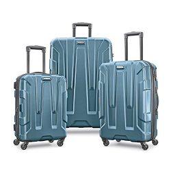 Samsonite Centric 3pc Hardside (20/24/28) Luggage Set, Teal