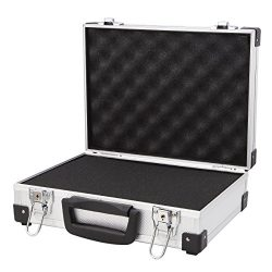 Professional Aluminum Hard Hand Gun Cases Office File Briefcase Outdoor Travel Flight Cases Home ...