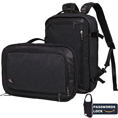 Laptop Backpack, Work Business School Travel Backpack 2 in 1 Multi-wear Innovative Anti-theft Wa ...