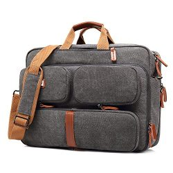 UtoteBag 17.3 Inch Laptop Bag Backpack Men Convertible Notebook Messenger Bag Shoulder Bag Multi ...