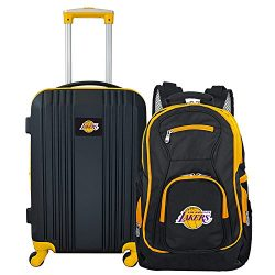 Denco NBA Los Angeles Lakers 2-Piece Luggage Set