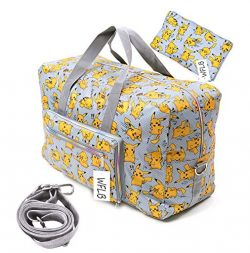 Travel Bag Foldable Large Travel Duffel Checked Bag Carry On Bag Luggage Tote Lightweight Tote B ...