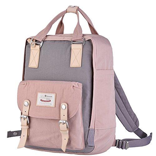 Himawari Backpack/Waterproof School Backpack 17.7″ College Vintage Travel Bag for Women,F ...