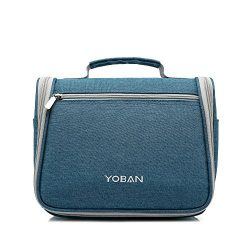 cosmetic hanging travel bag, mens and women Toiletry Bag Travel Case with Hanging Hook Dopp Kit  ...