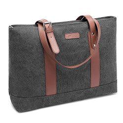 DTBG Laptop Tote Bag 15.6Inches Laptop Bag Nylon Shoulder Bag Women Briefcase Lightweight Handba ...