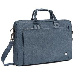 Evecase City 15 – 15.6 inch Laptop Briefcase Messenger Bag, Professional Water Resistant B ...