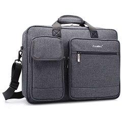 CoolBELL 15.6 inch Laptop Briefcase Protective Messenger Bag Nylon Shoulder Bag Multi-Functional ...
