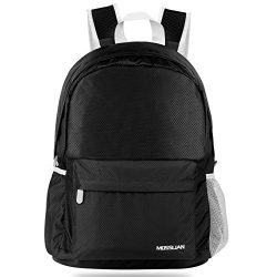 Travel Backpack: MOSSLIAN Handy Ultra Lightweight Packable Foldable Outdoor Backpack Daypack for ...