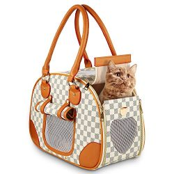 wot i Soft Sided Pet Carrier, Cat Carrier Dog Carrier Airline Approved Pet Carrier Suitable for  ...