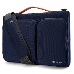 Tomtoc Original 13-13.5 inch Laptop Shoulder Bag with CornerArmor Patent, 360° Protective Laptop ...
