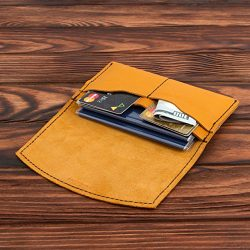 Leather Passport Holder – Multiple Passport Travel Organizer – Wallet Cover Case