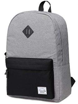 Backpack for Men, Vaschy Water Resistant Lightweight Unisex Daypack School Rucksack Bookbag Fits ...