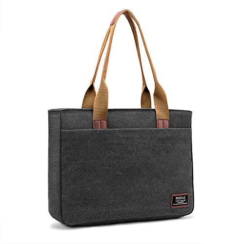 daffb04a057c Laptop Tote Bag DTBG 15.6 Inch Women Shoulder Bag Nylon Briefcase ...