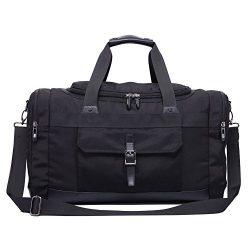 Domila Travel Duffel Bag Unisex Weekender Bag, TSA Friendly, Carry-on Luggage Tote Overnight Bag ...