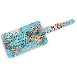 Hot Sale!DEESEE(TM)Fashion Cute Air Plane Pattern Travel Luggage Bag Tags Handbag ID Tag Name Ca ...