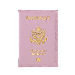 Travel USA Passport Cover Women Passport Holder Business Card for Passports Case Passport Wallet ...
