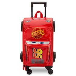 Disney Lightning McQueen Rolling Luggage – Cars 3 Red