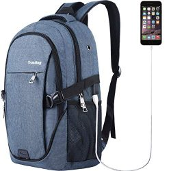 Laptop Backpack for Men Women Back Pack Waterproof College Computer daypacks teenagers's T ...
