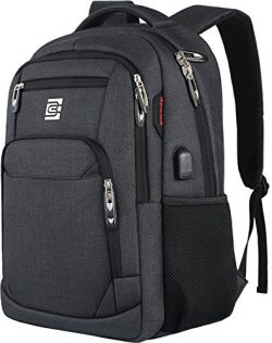 Laptop Backpack,Business Travel Anti Theft Slim Durable Laptops Backpack with USB Charging Port, ...