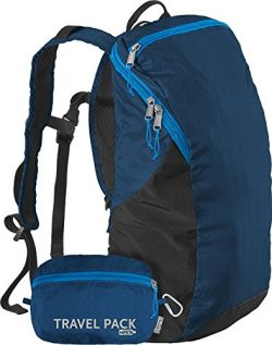 ChicoBag Travel Pack rePETe Compact Recycled Backpack – Poseidon