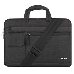 MOSISO Laptop Shoulder Bag Compatible 15-15.6 inch New MacBook Pro Touch Bar A1990 & A1707 2 ...