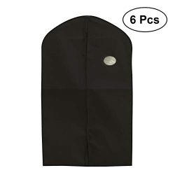 OUNONA 6PCS Garment Bag Protector Suit Bag for Travel Garment Closet Organize Clothes Dust Cover ...