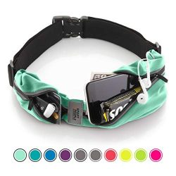 Running Belt USA Patented. Fanny Pack for Hands-Free Workout. iPhone X 6 7 8 Plus Buddy Pouch fo ...