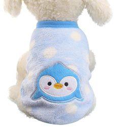 Pet Clothes Daoroka Puppy Dog Cat Small Pet Sweater Shirt Soft Warm Coat Costume Unisex Girl Boy ...
