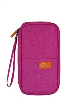 P.Travel Waterproof Travel Passport Women's Wallet and Credit Card Holder Ticket Document  ...