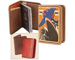 Tandy Leather Passport Wallet Kit 4052-00
