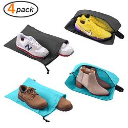 Shoe Bags for Travel Accessories Men & Women Large Shoe Bag with Drawstring and Zipper for S ...