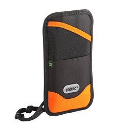GOX RFID Blocking Travel Neck Wallet, Premium Family Passport Holder, Travel Document Organizer  ...