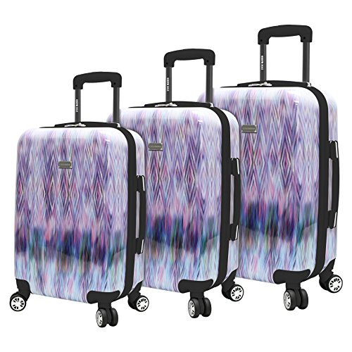 Steve Madden 3 Piece Luggage With Spinner Wheels (Diamond)