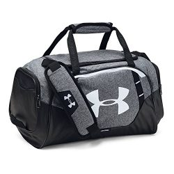 Under Armour Undeniable 3.0 X-Small Duffle Bag, Graphite /White