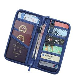 Casual Function Passport Holder Solid Travel Accessories Passport Cover Storage Organizer Busine ...