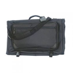 Tri-fold Garment Bag (Black) (45″L x 2 1/4″W x 22 1/4″H)