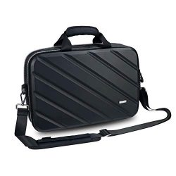 Briefcase 15.6 Inch Laptop Bag Laptop Shoulder Messenger Bag, Iksnail Business Office Bag for Me ...