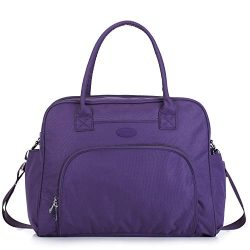 Lily & Drew Carry On Weekender Overnight Travel Shoulder Bag 15.6 Inch Laptop Computers Wome ...