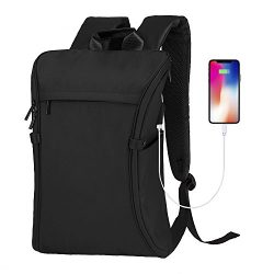 Laptop Backpack, Becky Travel College School Computer Bag with USB Charging Port, Anti-Theft Wat ...