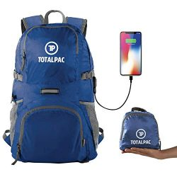 Totalpac Lightweight Hiking and Travel Backpack for Men & Women – Ultralight Packable  ...
